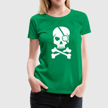 Irish skull - Women's Premium T-Shirt