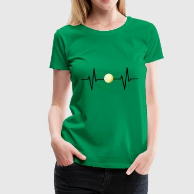 My heart beats for volleyball! gift - Women's Premium T-Shirt