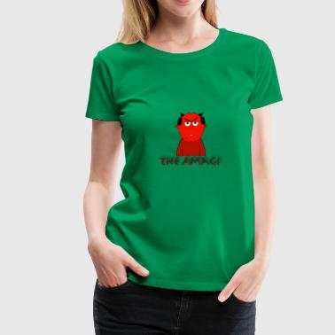 Amagi Garbler Design 2 - Women's Premium T-Shirt