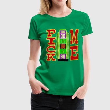 TV Game Show Contestant - TPIR (The Price Is...) - Women's Premium T-Shirt
