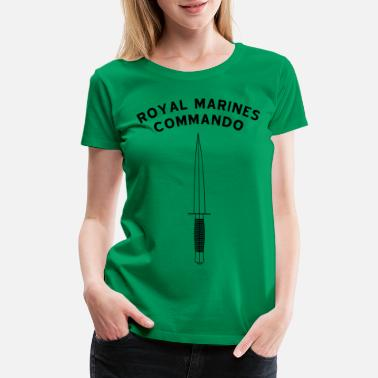 Commando Royal Marines Commando - Women's Premium T-Shirt