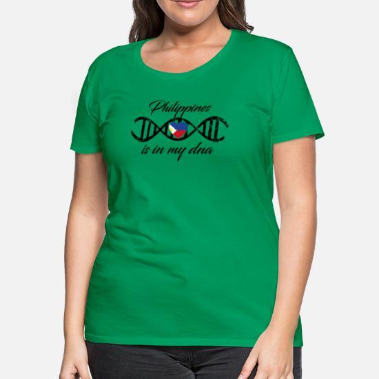 love my dns dna land country Philippines Women's Premium T