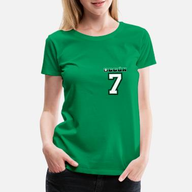 Sportshirt Oggun No 7 on green 2 - Women's Premium T-Shirt