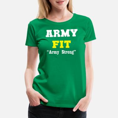 Religion Fitness Army fit - Women's Premium T-Shirt