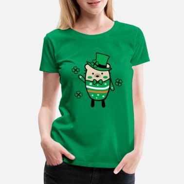 Lucky Charm Mochie -St.Patrick's day - Women's Premium T-Shirt