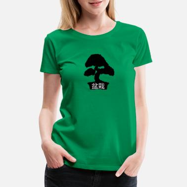 Bonsai Bonsai Japanese Shirt - Women's Premium T-Shirt