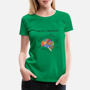 Theater Mind of A Theater Kid Funny Musical Theater Drama - Women's Premium T-Shirt