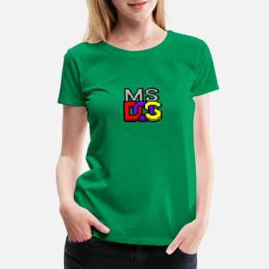 Ms Dos Old stuff: MS-DOS  - Women's Premium T-Shirt
