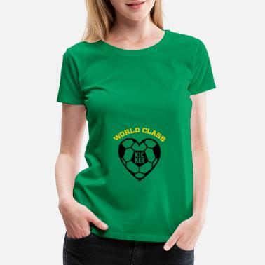 855c8d5687597 Maternity Soccer Kicker - Soccer Maternity - Women's Premium T-Shirt