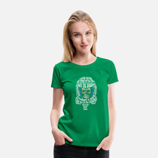 Library T-Shirts - Who turned out the lights - Women's Premium T-Shirt kelly green