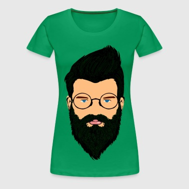 beard boy - Women's Premium T-Shirt