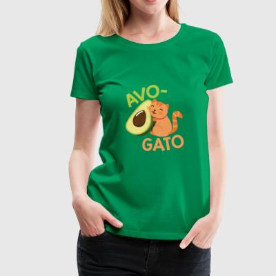 AVOCADO/CATS: Avo-Gato - Women's Premium T-Shirt