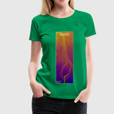 Mars - Fissure and Channel: Plasma - Women's Premium T-Shirt