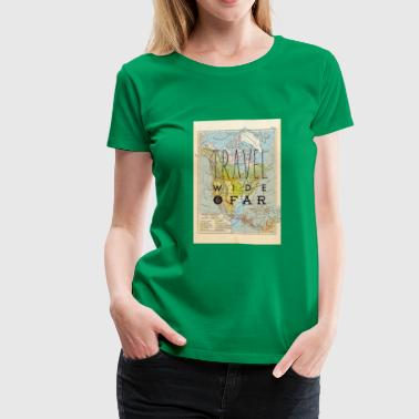Travel Wide Far North America T shirt - Women's Premium T-Shirt