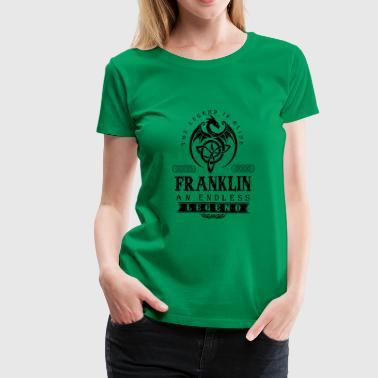 FRANKLIN - Women's Premium T-Shirt