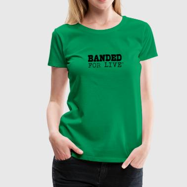 Lap Band for the banded - Women's Premium T-Shirt