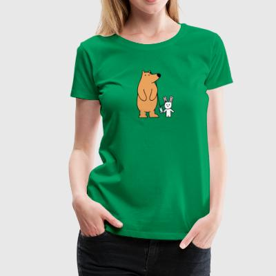 Sharing - Women's Premium T-Shirt
