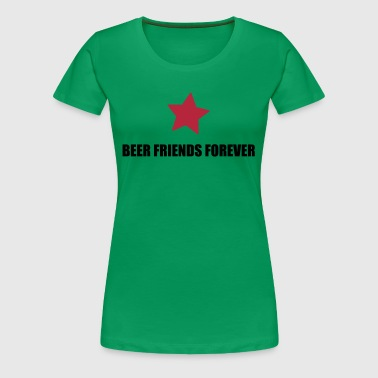 BFF beer friends forever - Women's Premium T-Shirt