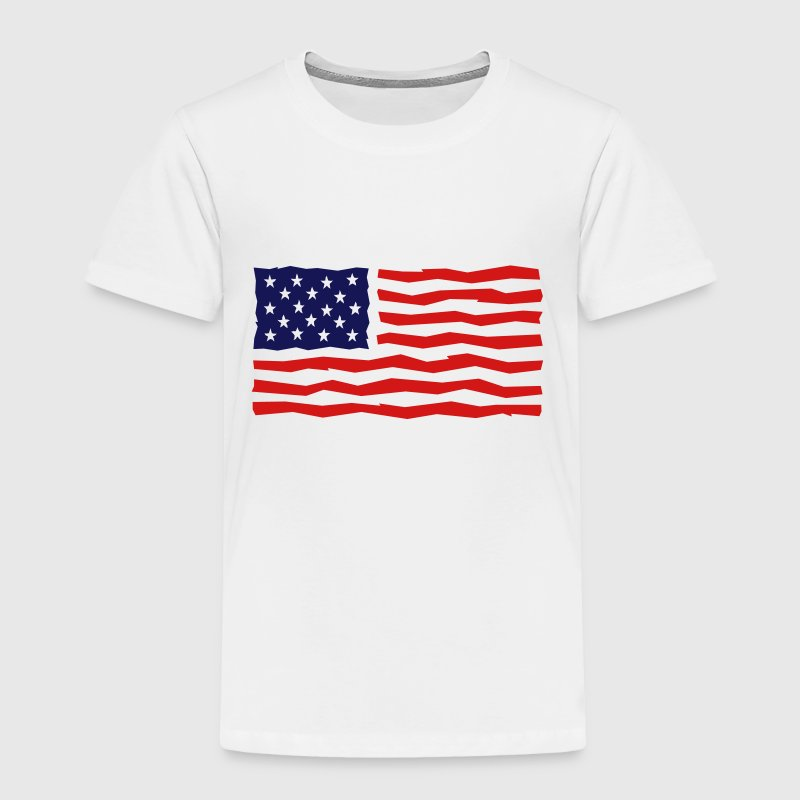 Stars And Stripes / USA / Flag - Toddler Premium T-Shirt