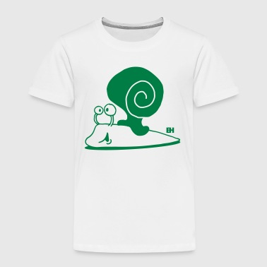 Snail - Toddler Premium T-Shirt