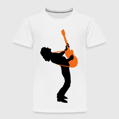 guitar player - Toddler Premium T-Shirt