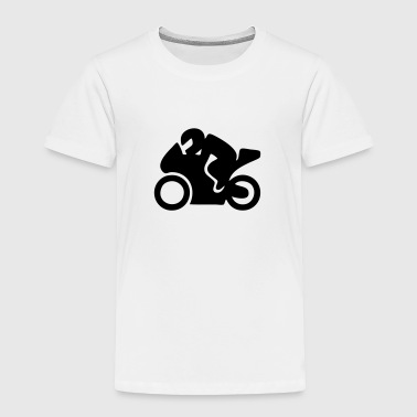 Motor Racing Bike (Moto Sport) - Toddler Premium T-Shirt