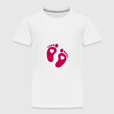 Baby Feet - Toddler Premium T-Shirt