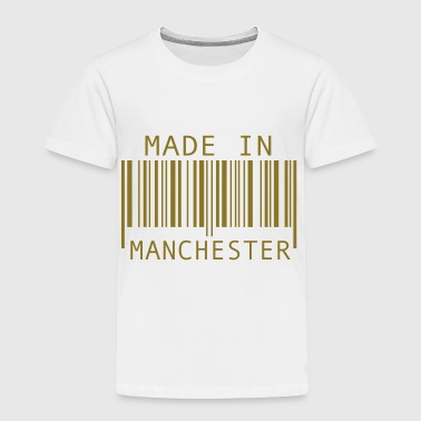 Made in Manchester - Toddler Premium T-Shirt