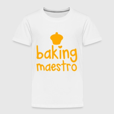 CUPCAKE baking maestro  - Toddler Premium T-Shirt