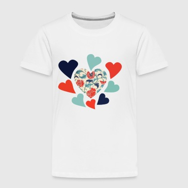 Retro love - Toddler Premium T-Shirt