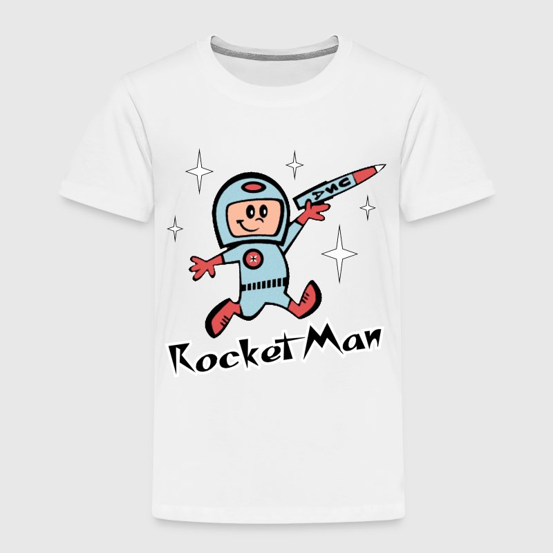 Rocket Man - Toddler Premium T-Shirt