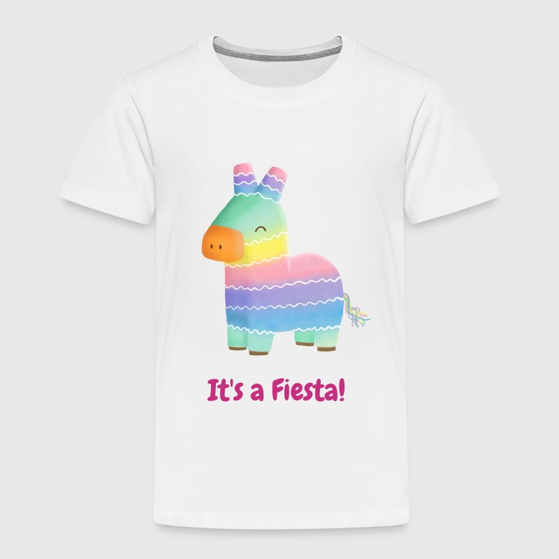 Cute Piñata Kids Fiesta - Toddler Premium T-Shirt