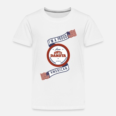 South Dakota South Dakota - Toddler Premium T-Shirt