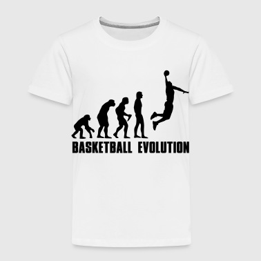Basketball Evolution Dunk - Toddler Premium T-Shirt