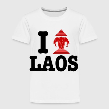 I Erawan (Love) Laos - Toddler Premium T-Shirt