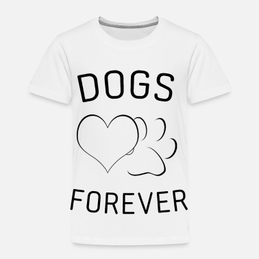 Ridgeback Dogs Love Golden Retriever Labrador Gift - Toddler Premium T-Shirt