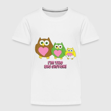 Announcement Big Sister - Toddler Premium T-Shirt