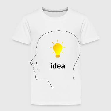 Sun Shine Bulb Idea - Toddler Premium T-Shirt