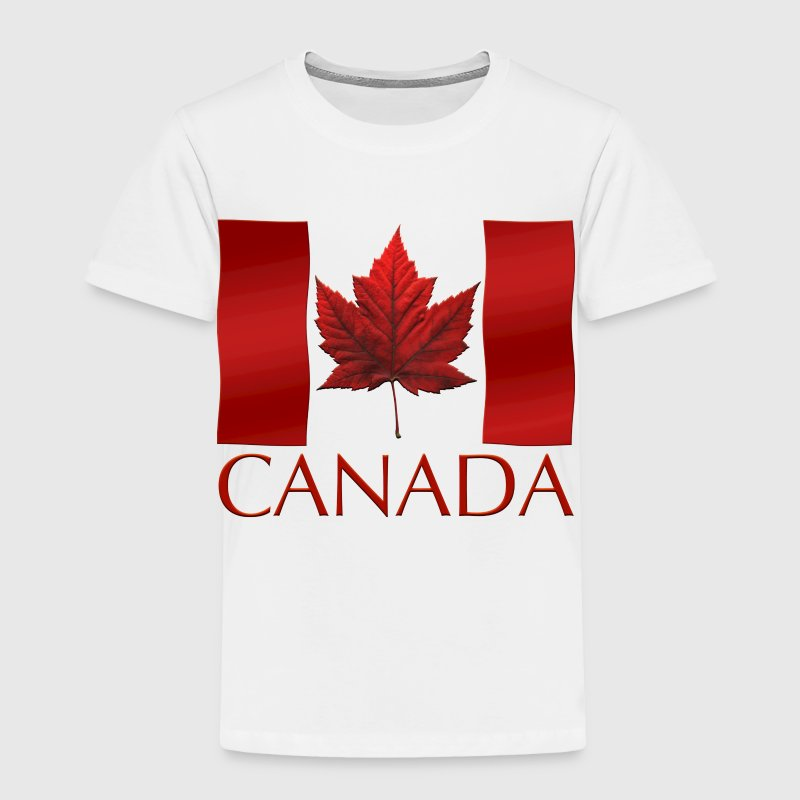 Canada Souvenir Maple Leaf Art Gifts - Toddler Premium T-Shirt