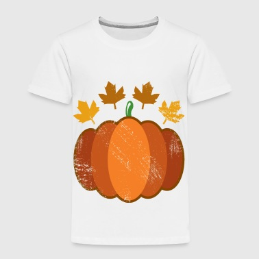 Autumn Pumpkin thanksgiving season - Toddler Premium T-Shirt