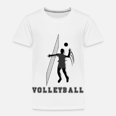 Volley Volley Ball - Toddler Premium T-Shirt