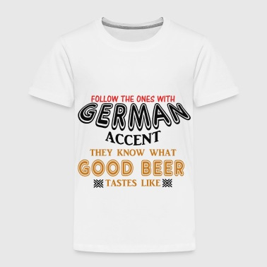 German - Toddler Premium T-Shirt