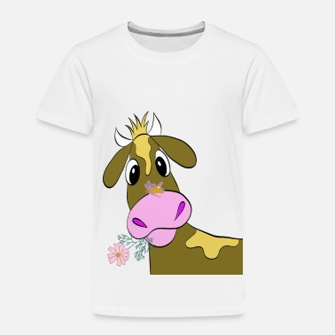 Cow Funny Cow - Toddler Premium T-Shirt
