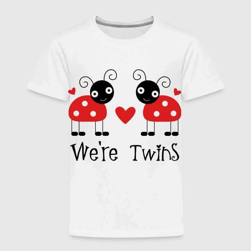 Ladybug Twins - Toddler Premium T-Shirt