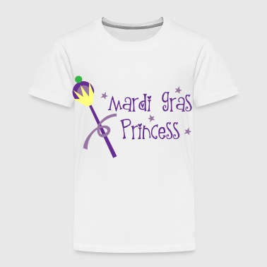 Mardi Gras Princess - Toddler Premium T-Shirt