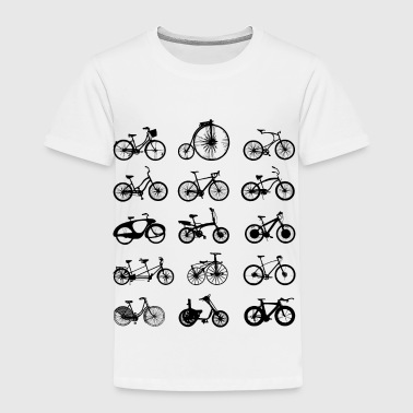 bike bikes Bicycle cycle - Toddler Premium T-Shirt