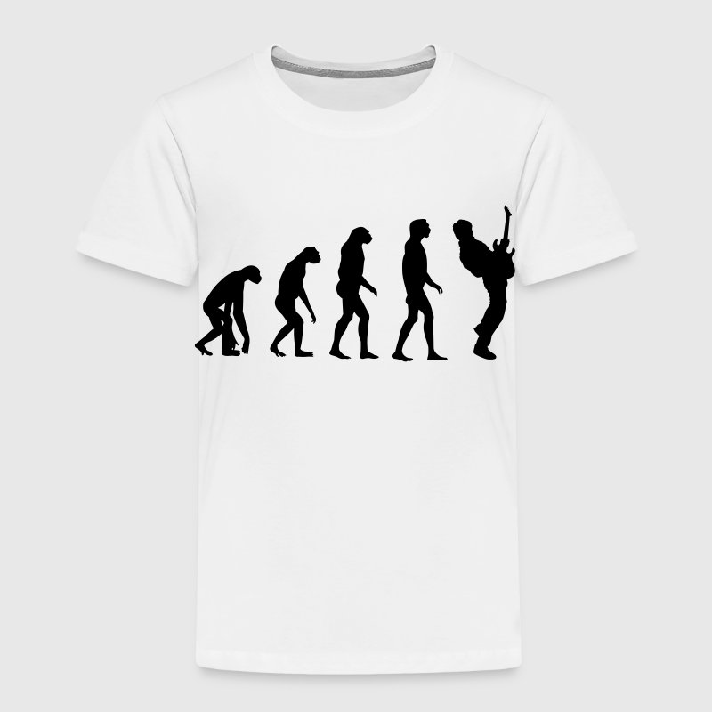 Guitar Player Evolution - Toddler Premium T-Shirt