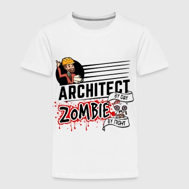 Female Architect - Zombie by night - Toddler Premium T-Shirt