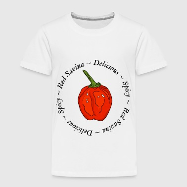 Chilli Red Savina Chili Pepper Scharf Spicy - Toddler Premium T-Shirt