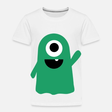 Monster Slimy Slimy The Lil' Monster Tee - Toddler Premium T-Shirt